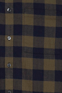 Forest & Navy Check Shirt - Casual Friday