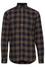 Load image into Gallery viewer, Forest & Navy Check Shirt - Casual Friday