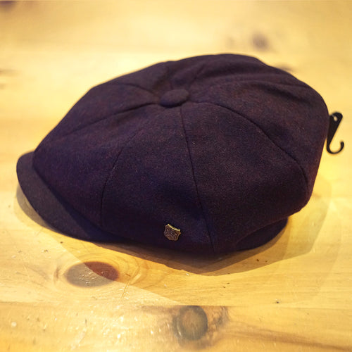 Alfie Merlot Felt Bakerboy - Failsworth Hats