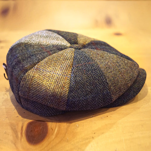 Lewis Harris Tweed Bakerboy - Failsworth Hats