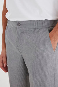 Grey Stripe Men's Shorts - Casual Friday