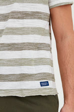 Load image into Gallery viewer, Oil & Olive Men's Striped T-shirt - Casual Friday