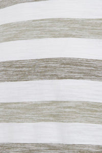 Oil & Olive Men's Striped T-shirt - Casual Friday