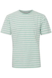 Mint Striped T-shirt - Casual Friday