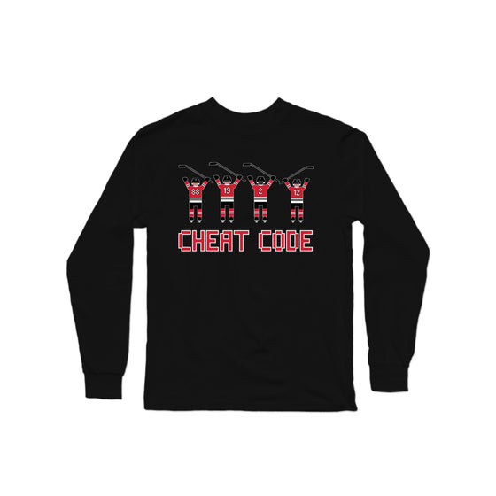 Cheat Code Blackhawks Longsleeve Shirt