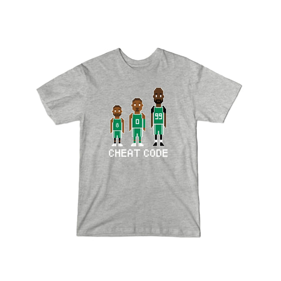 Celtics Cheat Code T-Shirt
