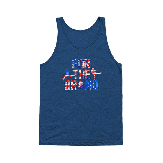 For the Brand Red White and Blue Tank Top