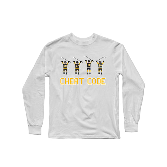 Cheat Code Penguins Longsleeve Shirt