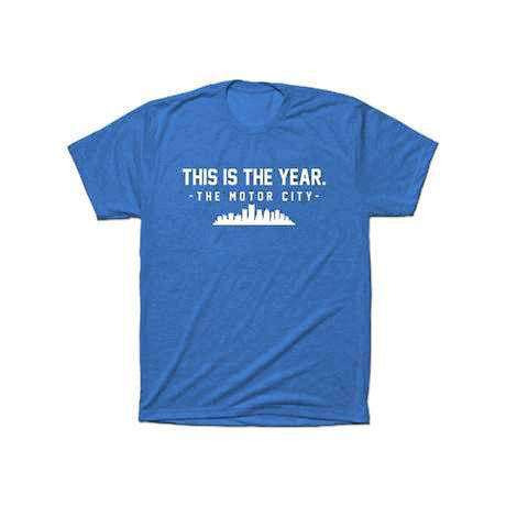 This is The Year - Detroit T-Shirt