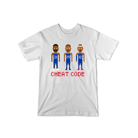 76ers Cheat Code T-Shirt