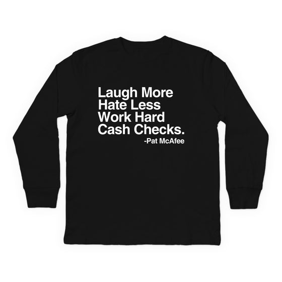 Laugh More Youth Longsleeve Shirt