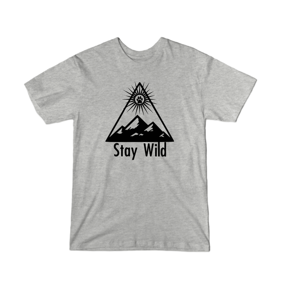 Fur the Brand - Stay Wild Youth T-Shirt