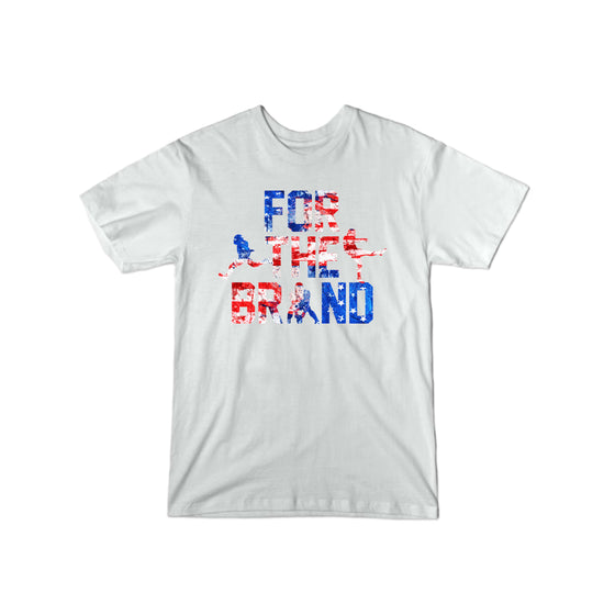 For the Brand Red White and Blue T-Shirt