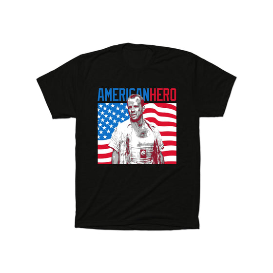 American Hero - Die Hard T-Shirt