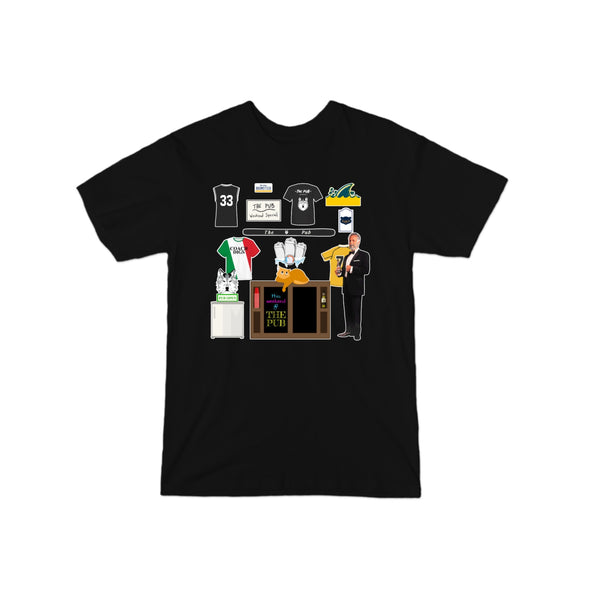 Pub Wall T-Shirt