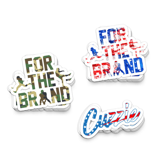 3 Piece Patriotic FTB Sticker Pack