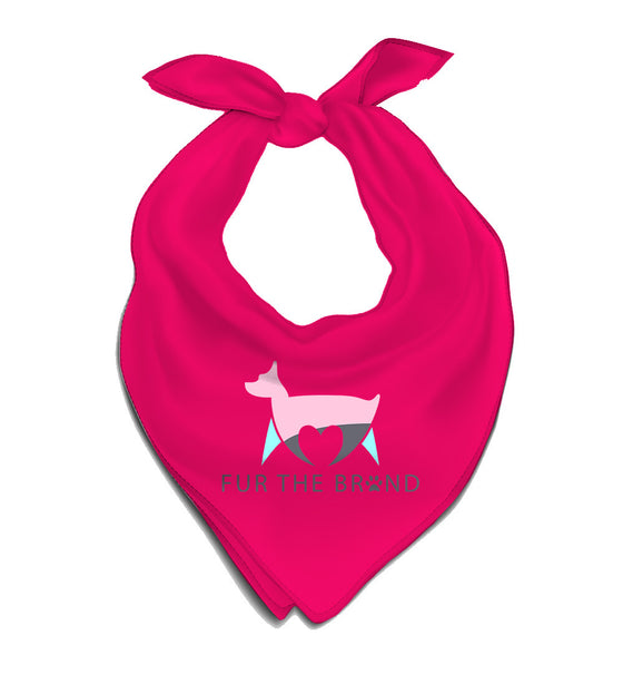 Fur The Brand Pet Bandana