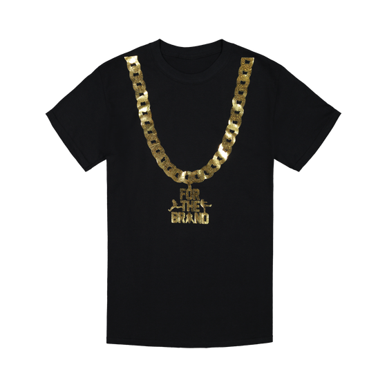 For The Brand Gold Chain T-shirt