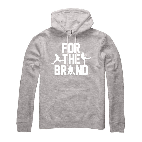 For The Brand Champion Pullover Hoodie - Heather Grey