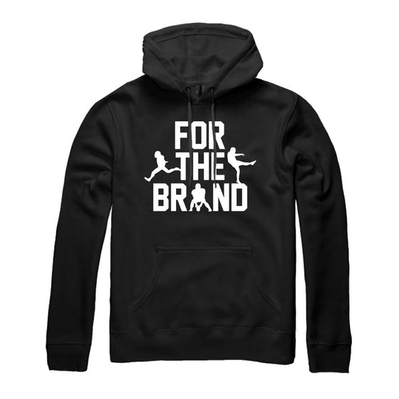 For The Brand Champion Pullover Hoodie - Black