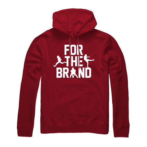 For The Brand Champion Pullover Hoodie - Red