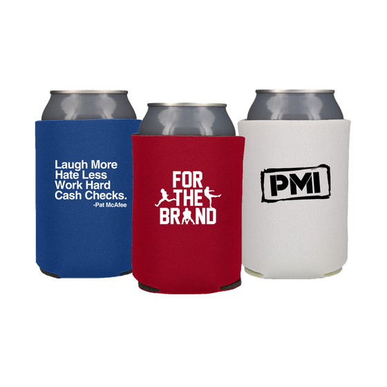 Pat McAfee Inc Can Cooler 3 pack