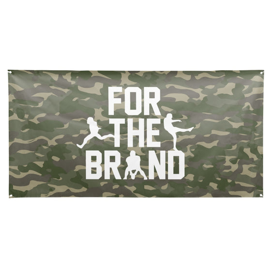 For The Brand All Over Camo Flag