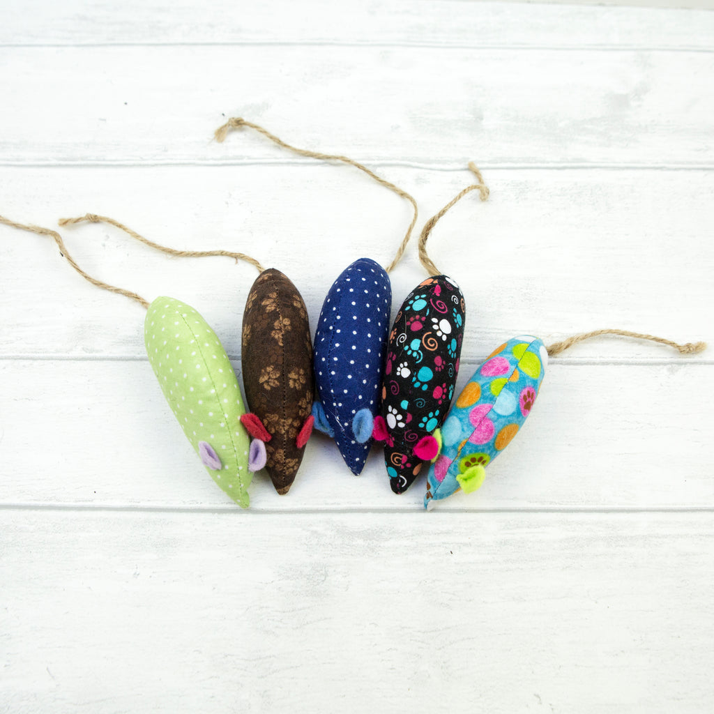 Handmade Catnip Mice Cat Toys