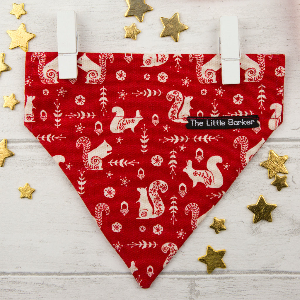Christmas 'Scandi'  Dog Bandana