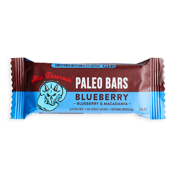 Blueberry Paleo Bar