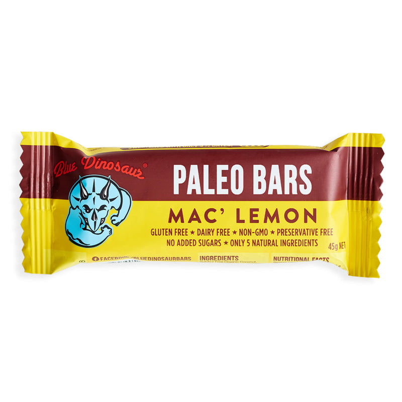 Mac' Lemon Paleo Bar