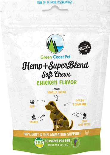 cbd dog treats chicken flavor