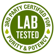 Load image into Gallery viewer, CBD Oil Lab Tested Seal