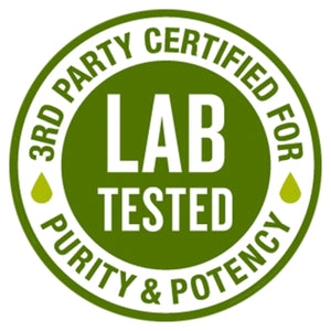 CBD Oil Lab Tested Seal