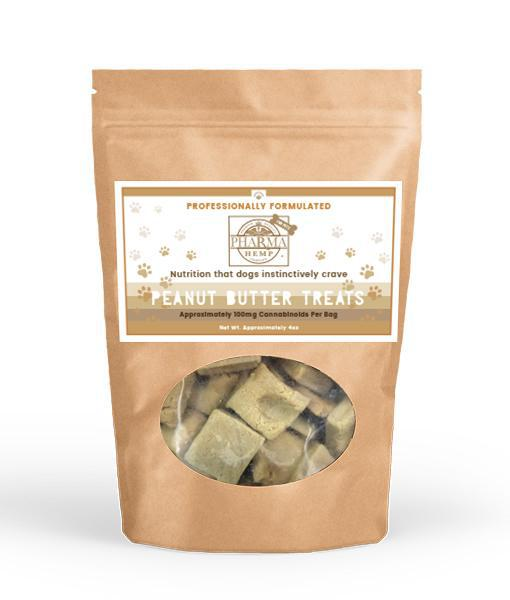 Hemp Health Peanut Butter Flavored CBD Oil Treats for Dogs Product Picture 2