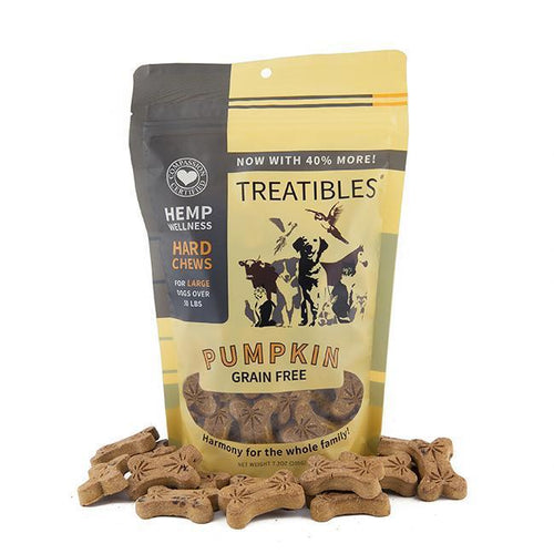 Treatibles Large Pumpkin CBD Oil for Dogs Treats Product Picture
