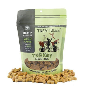 Treatibles Large Turkey CBD Oil for Dogs Treats Product Picture