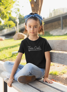 Twin Oaks Youth Baseball Tee with Bling