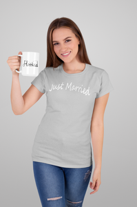 Just Married Short Sleeve Tee