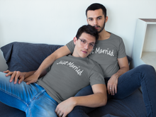 Load image into Gallery viewer, Just Married Short Sleeve Tee