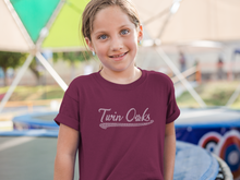 Load image into Gallery viewer, Twin Oaks Youth Baseball Tee with Bling