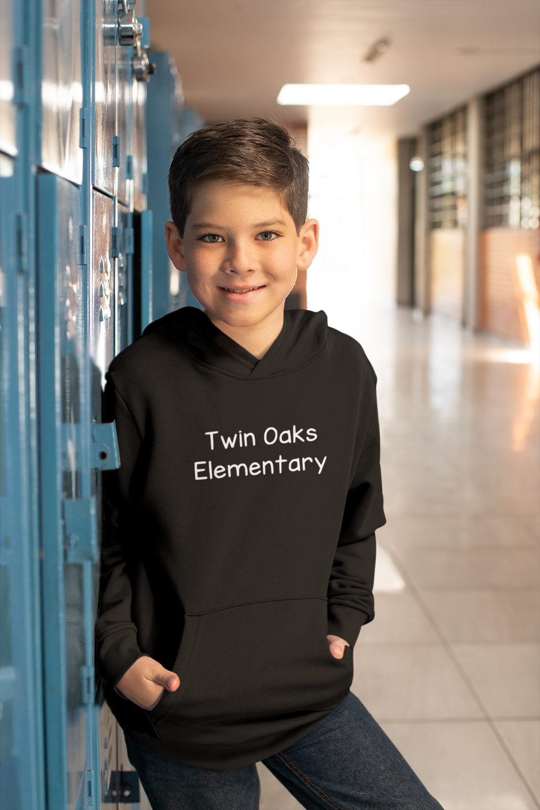 Twin Oaks Elementary Youth Lightweight Hoodie