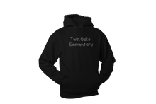 Load image into Gallery viewer, Twin Oaks Elementary Adult Lightweight Hoodie with Bling