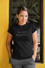 Load image into Gallery viewer, Twin Oaks Elementary Women's Tee with Bling