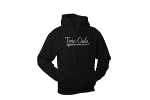 Twin Oaks Adult Baseball Lightweight Hoodie with Bling