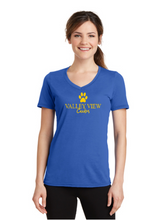 Load image into Gallery viewer, Valley View Women's V-Neck Tee