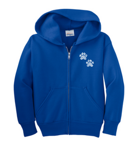 Valley View Youth Zip-Up Hoodie