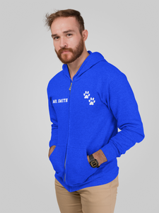 Valley View Adult Zip Up Hoodie