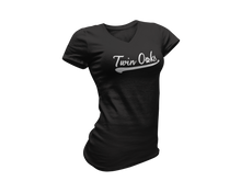 Load image into Gallery viewer, Twin Oaks Women's Baseball Tee