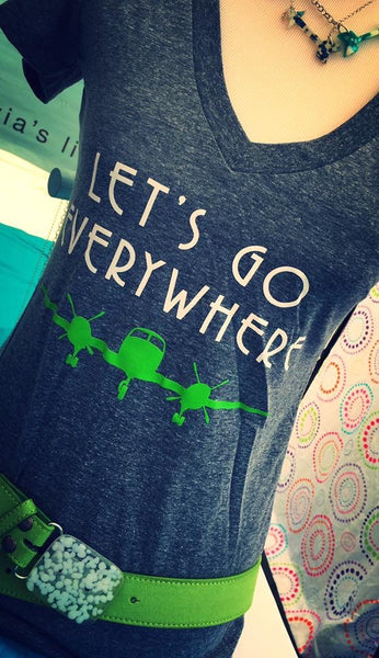 Let's Go Everywhere T-Shirts